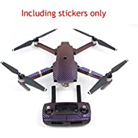 TSAAGAN Waterproof Multi-color Stickers Skin for DJI Mavic Pro and Spark Drone