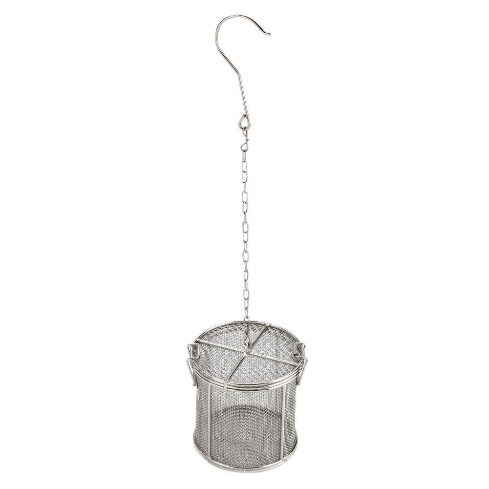 Spice Seasoning Strainer, Stainless Steel Tea Ball Strainer Soup Seasonings Separation Basket Spice Filter(1010cm)