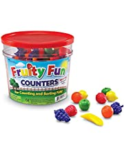 Learning Resources LER0177 Fruity Fun Counters (108 Piece),Multi-color
