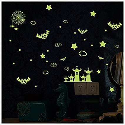 amazon com bibitime diy glow in the dark night star city halloween