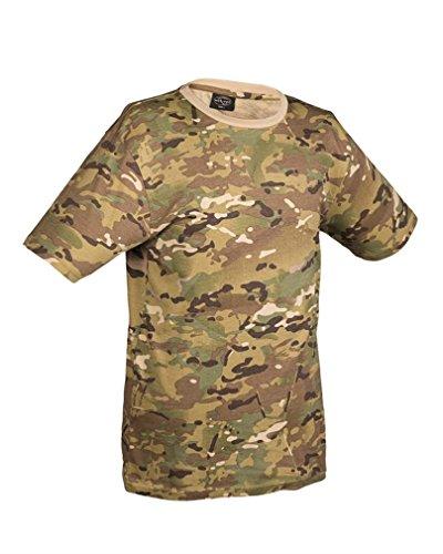 Léger Camouflage Multitarn Us tec Mil Army T shirt 8nmNv0w