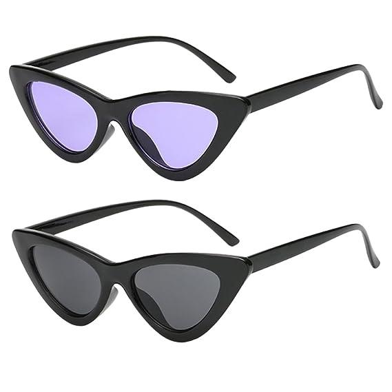 Sharplace 2X Gafas de Sol Moda Complementos de Ropa Elegante ...