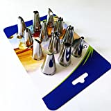 FixtureDisplays Cake Pastry Tip Frosting Tube Icing Baking Decorating Pipping Nozzle Tip Set Kit 18005!