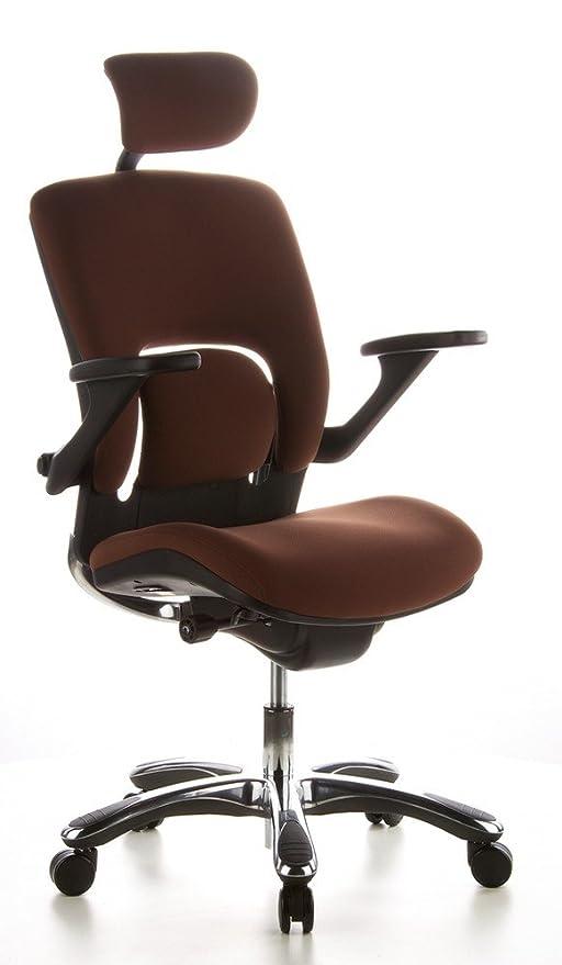 Hjh Office 652010 Chaise De Bureau Haut De Gamme Fauteuil De