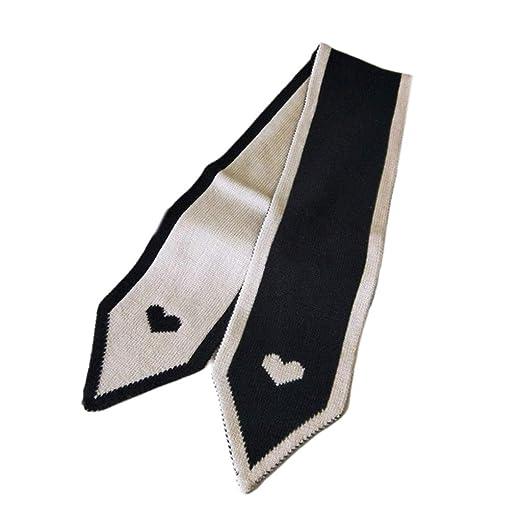 Bufanda Coreana con Forma de Corbata, Bufanda de Lana para Parejas ...