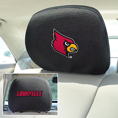 Cardinal Head Athletic - FANMATS NCAA University of Louisville Cardinals Polyester Head Rest Cover