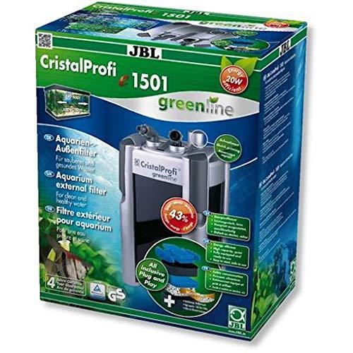 JBL CristalProfi e1501 greenline External filter 1400l/h 20W for 200-700L aquariums (UK-PLUG)