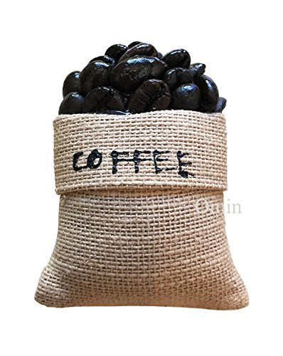 Fridge Magnet Decor For Refrigerator Home Art Decoration Size W2 x H3 Inches Approx (Coffee Beans) ()