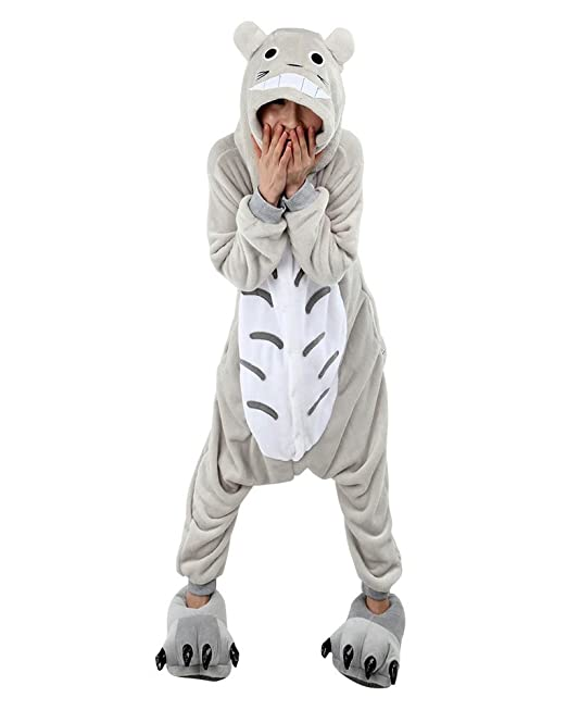 1128 opinioni per Keral Kigurumi Pigiama Adulto Anime Cosplay Halloween Costume Attrezzatura