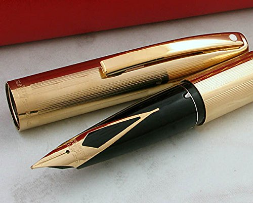 Price comparison product image Made in the USA Sheaffer triumph imperial 23KT Gold Fountain Pen with 23KT Gold barrel and appointments