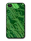 Best Cases For Iphone 4s In Greens - Cool Cute Computer Board Chip Effect Style in Review