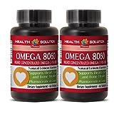 Omega 6 9 - OMEGA 8060 OMEGA-3 FATTY ACIDS - boost the immune system (2 Bottles)