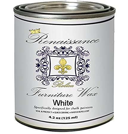 Renaissance Furniture Wax 4.2 oz - White Wax