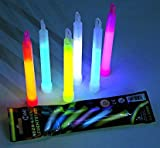"6"" glow light sticks. Retail Package. (case of 48)"