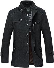 Amazon.com: Grey - Wool &amp Blends / Jackets &amp Coats: Clothing