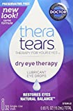 First Aid Only Thera Tears Lubricant Eye Drops, 32 Count