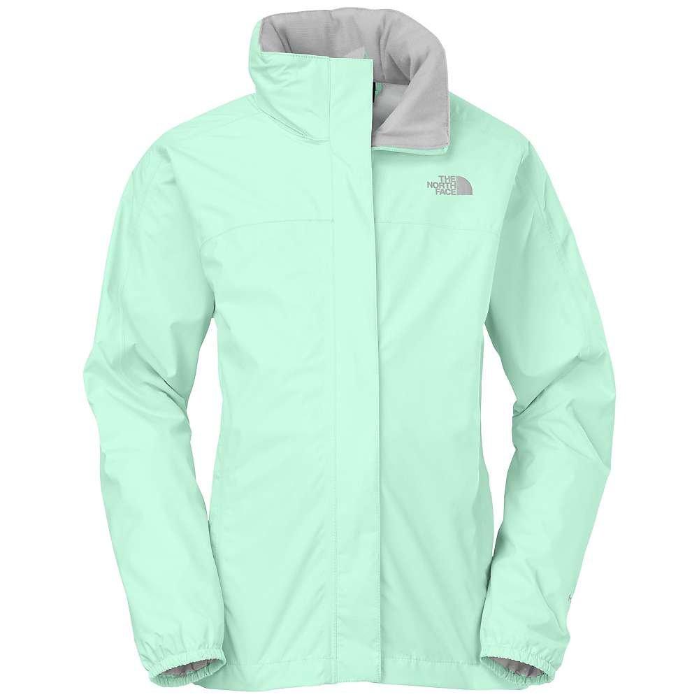 The North Face Girl's Resolve Waterproof Jacket (Beach Glass Green, 2XS (5 Little Kids))