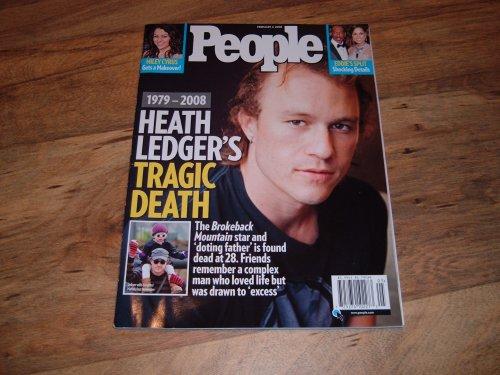 People, February 4, 2008 issue-Heath - Mary Style Kate Olsen