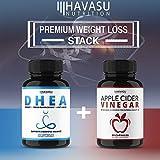 Havasu Nutrition Extra Strength Apple Cider Vinegar Pills - 500mg - Natural Detox, Digestion, Immune Booster - Powerful Cleansing Supplement, Premium-Non-GMO ACV - 60 Capsules
