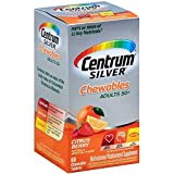 Centrum Silver Tablets Chewables Citrus Berry 60 Tablets For Sale