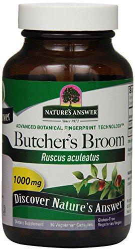 her's Broom Root, 90-Count (Butchers Broom)