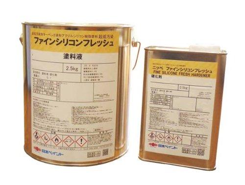 日本ペイント ファインシリコンフレッシュ ND-111 3kgセット B003630JHW ND-111
