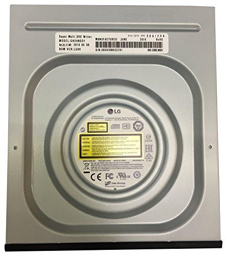 LG GH24NSD1 24x8x16x DVD+RW 24x6x DVD-RW 16xDVD+DL 8xDVD-DL 5xDVD-RAM SATA DVD-Brenner BLK schwarz ohne SW