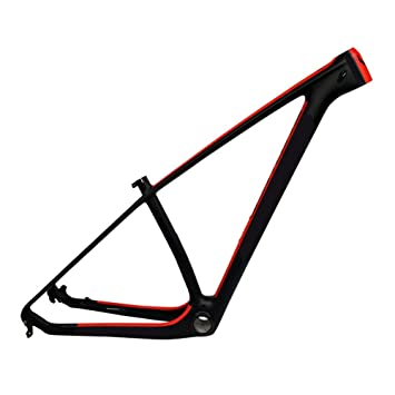 HAILI Cuadro de Bicicleta de Empuje de Carbono MTB 29Er Bicicleta ...