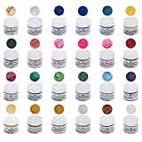 Roxy & Rich Edible Hybrid Luster Dust Master Kit, 24 Colors by GSA