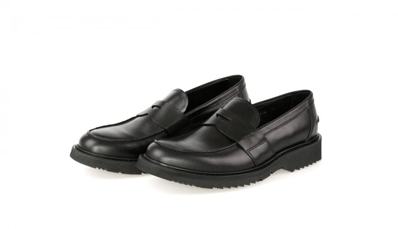 Prada Men's 2DG013 Leather Loafers
