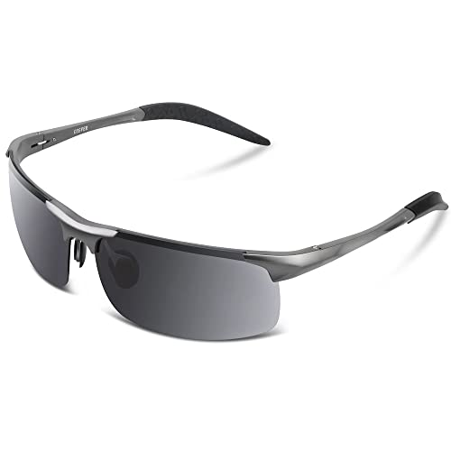 COSVER Men's Sports Style Polarized Sunglasses