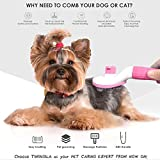TIMINGILA Self Cleaning Slicker Brush for Dogs and