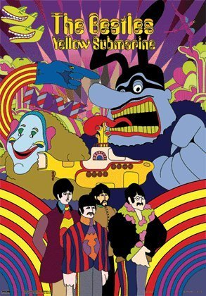 Beatles YELLOW SUBMARINE 3D Poster - Pop - Make 3d Poster Shopping Results