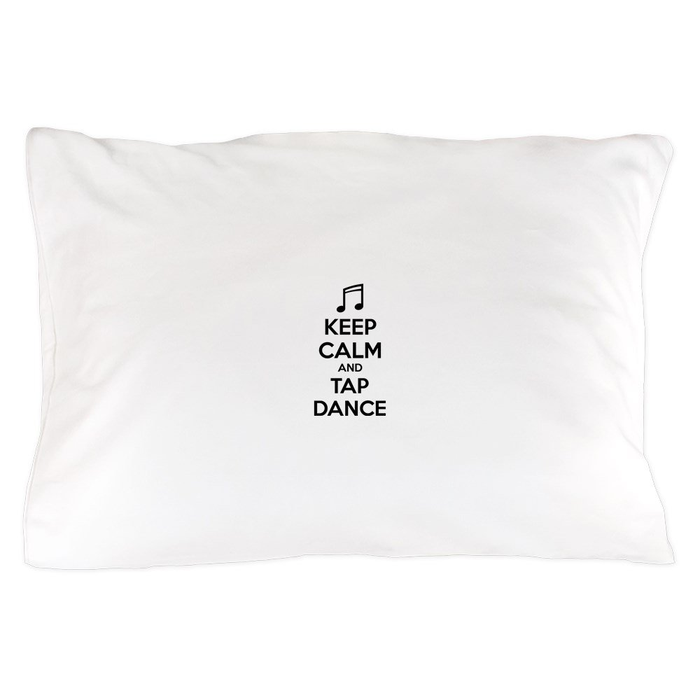 CafePress – Keep Calm and Tap Dance – 標準サイズ枕カバー、20