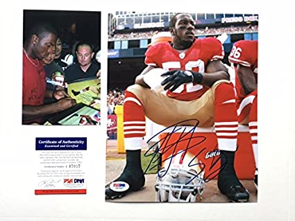 ad17bd7e924 Image Unavailable. Image not available for. Color  Patrick Willis Hot! signed  autographed San Francisco 49ers ...