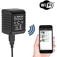 SpygearGadgets® 1080P HD WiFi Internet Streaming AC Power Adapter Hidden Spy Camera / Nanny Cam / Home Security Camera | Lifetime Warranty | Model SG-HC400w