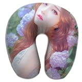 Colourful Fairy Brace Neck Pillow Spa Memory Foam U-SHAPE Airplane Travel Everybody