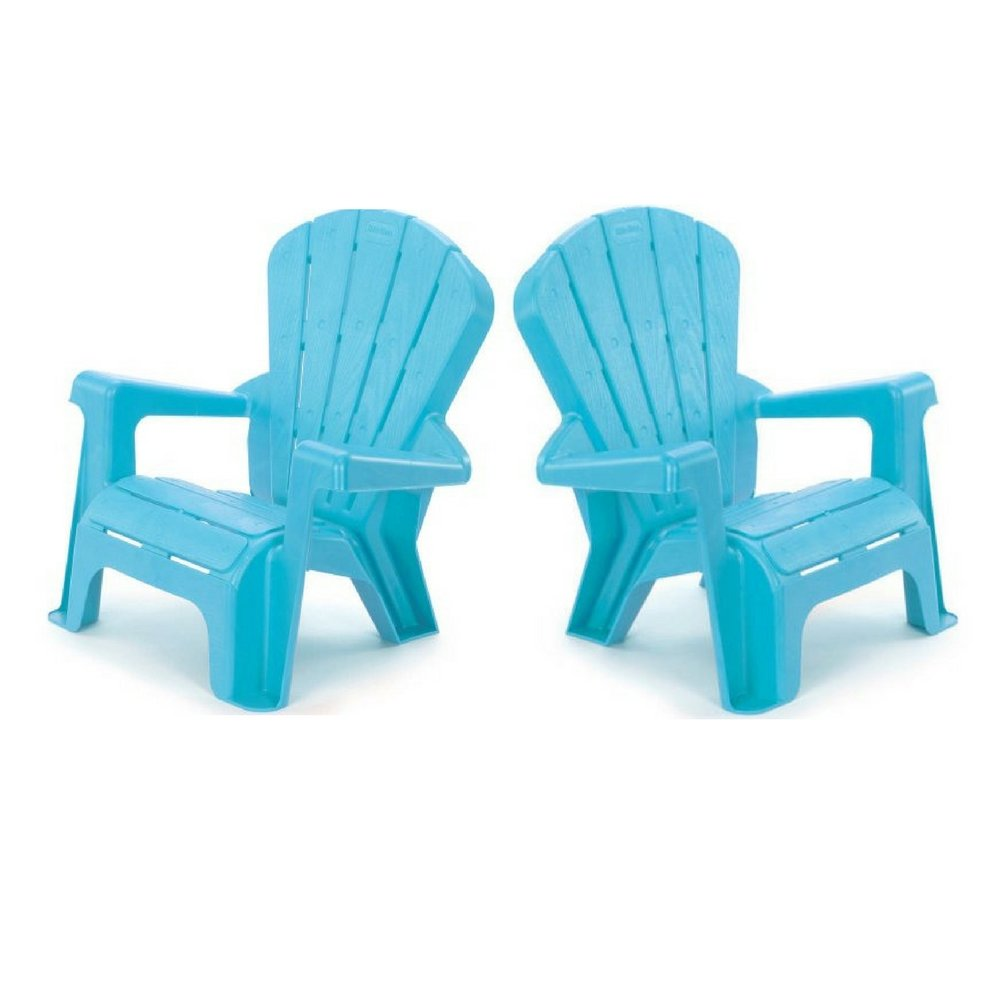 Kids or Toddlers Furniture,Use For Indoor,Outdoor, Inside Home,The Garden Lawn,Patio,Beach,Bedroom Versatile and Comfortable Pack of 2 (Light Blue) by >>>>