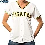 Pittsburgh Pirates MLB Women's Cool Base Home Jersey White (Medium)