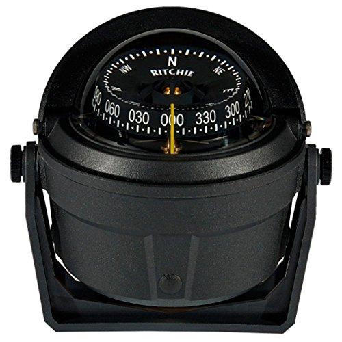- Ritchie B-81-WM Voyager Bracket Mount Compass - Wheelmark Approved f/Lifeboat & Rescue Boat Use (56844)
