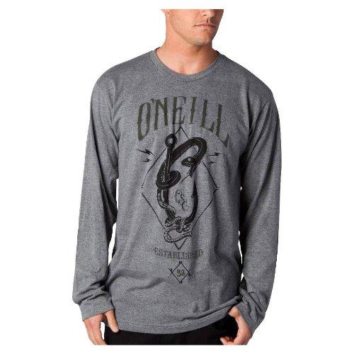 ONeill - ONeill Longsleeve Tee - Hooked Heather Grey HL3yoL2