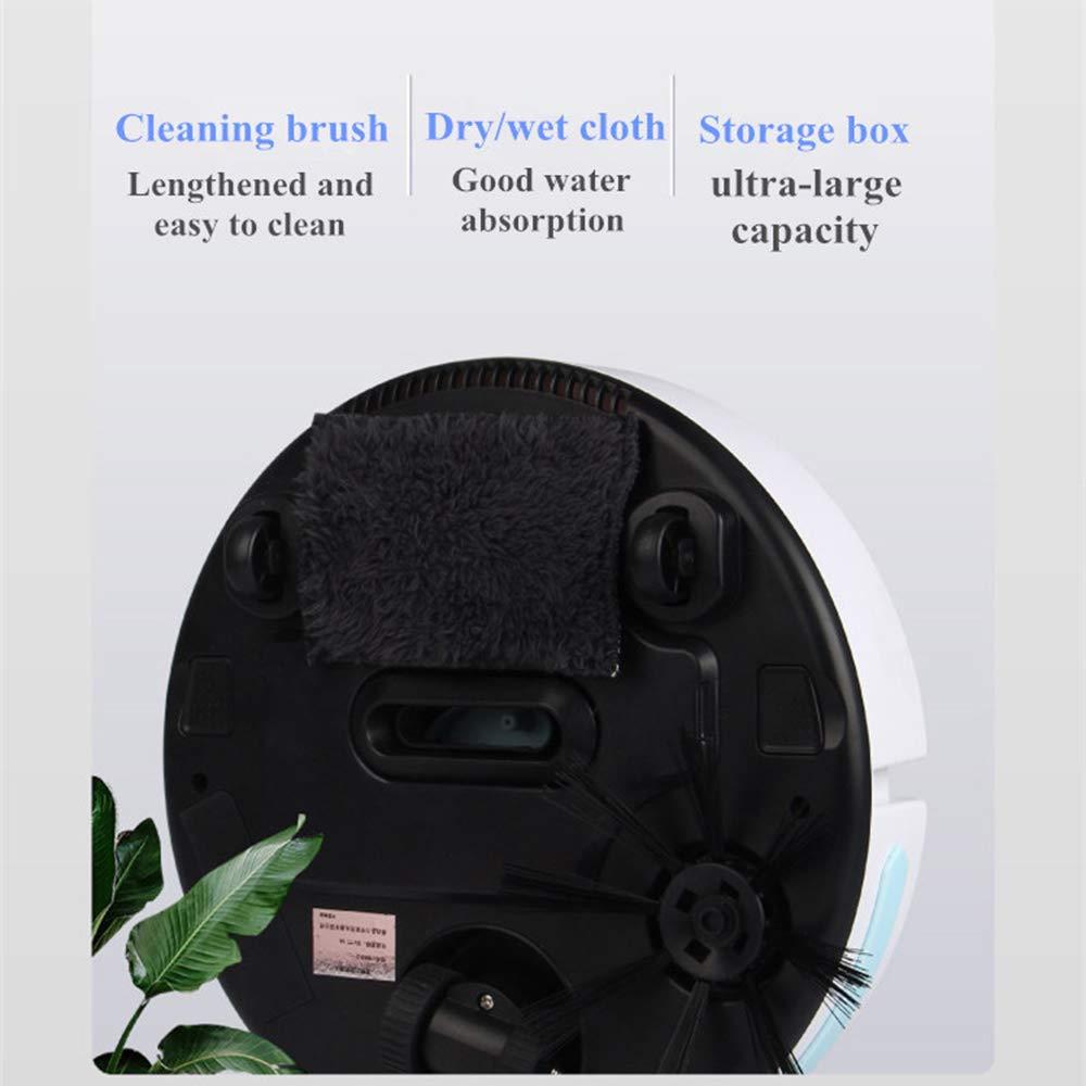 Aspirapolvere Intelligente Ricaricabile,Potente Aspirapolvere Mobile Piano Strumento di Pulizia Spazzamento Decdeal Robot Aspirapolvere Automatico