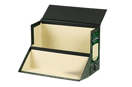Rexel - Cajas de transferencia (2 unidades), color negro y verde