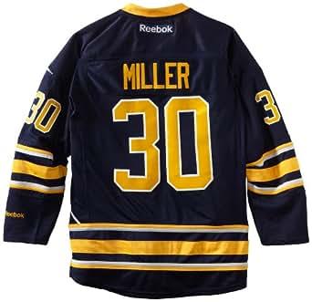 NHL Buffalo Sabres Ryan Miller #30 Premier Jersey, Medium