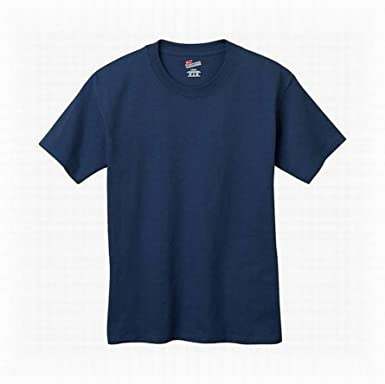 Hanes Authentic Tagless Boys Cotton T-Shirt