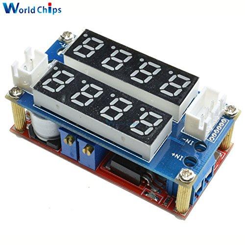 0-5A Adjustable CC/CV Step-Down Charging Board Digital Voltmeter Ammeter Buck Module LED Driver for Arduino