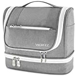 VAGREEZ Toiletry Bag, Hanging Travel Toiletry Bag with Heavy-duty Zippers Waterproof Toiletry Bag