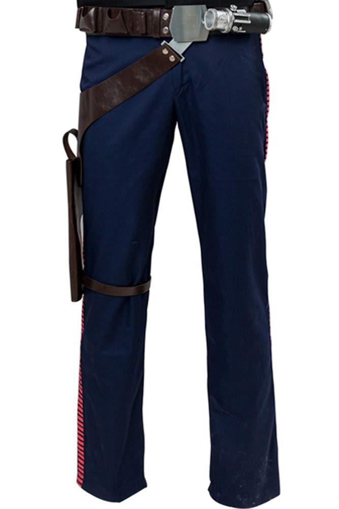 Cosplaysky Star Wars Costume ANH A New Hope Han Solo Pants Medium