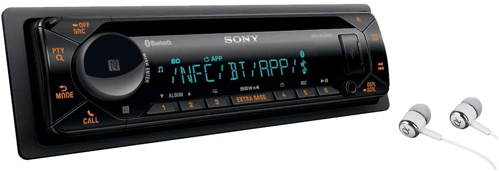 Sony MEX-XB100BT- Receptor CD con Bluetooth para coche, color negro