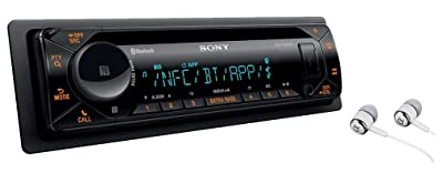Sony MEX-N5300BT Built-in Dual Bluetooth Voice Command CD/MP3 AM/FM Radio Front USB AUX Pandora Spotify iHeartRadio iPod / iPhone Siri and Android Controls Car Stereo Receiver